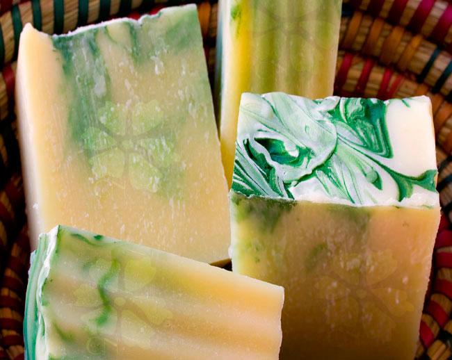 Jabón suave y nutritivo de Albahaca y Bergamota de Cosmética Natural 100x100