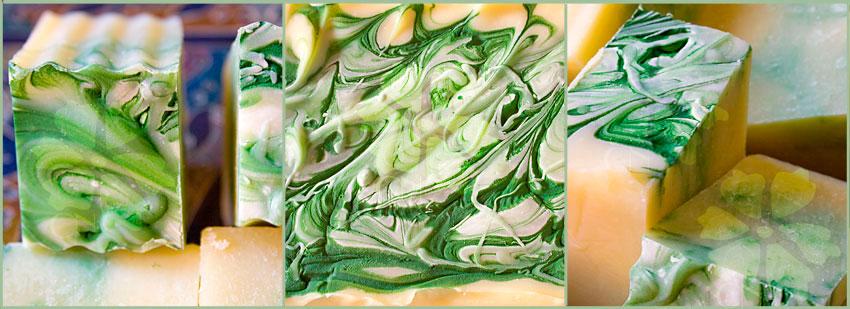 Jabón Nutritivo de Hierbas de Albahaca y Bergamota de Cosmética Natural 100x100
