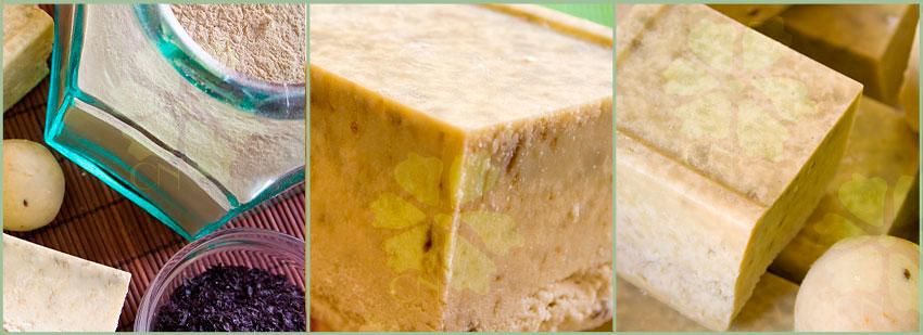 Baño De Arcilla Verde:Jabón Natural artesano de Arcillas y Algas de CN