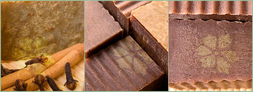 Jabón de Canela y Clavo estimulante de Cosmética Natural 100x100