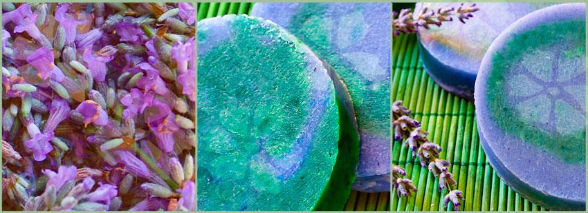Jabón natural y artesano de Lavanda de Cosmética Natural 100x100
