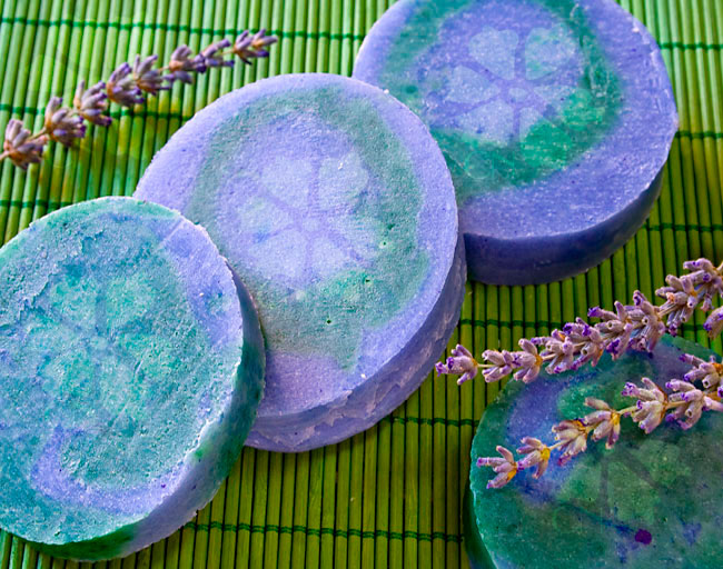 Jabón natural artesano de Lavanda de Cosmética Natural 100x100