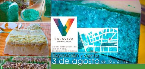 Exposición de Jabones Naturales Artesanos y Sales Terapéuticas en SalaViva