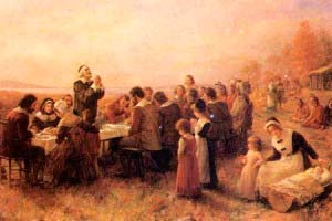 Colonos americanos en 1600