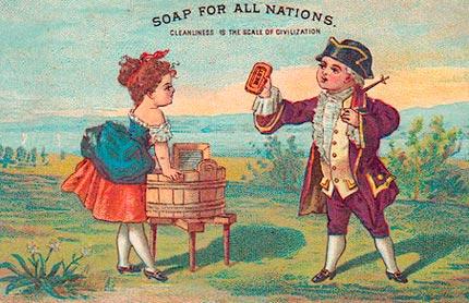 Grabado Americano del siglo XVIII