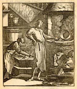 grabado de jabones antiguo