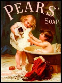 Poster de Jabón Pears