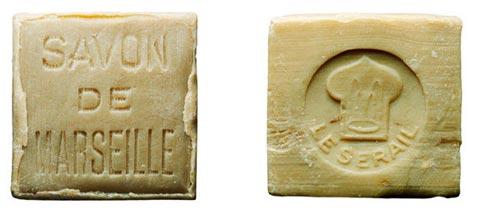 Jabón antiguo de Marsella